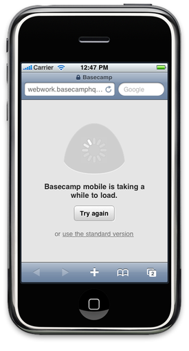 Basecamp Mobile not working on emulator