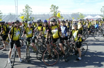 cancer survivor julie kinnear leading ride against cancer