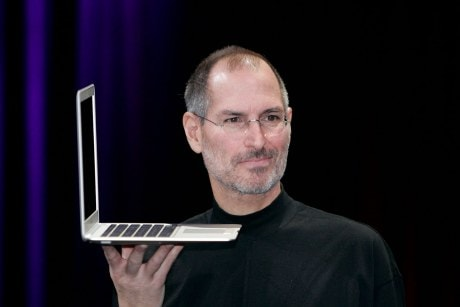 MacBook-Air-Steve-Jobs