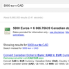 Google currency converter: Xe.com just lost another customer