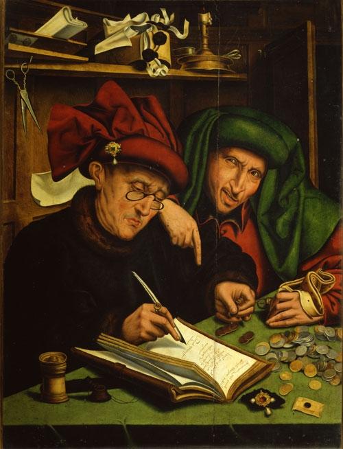 The Usurers Marinus van Reymersuaele