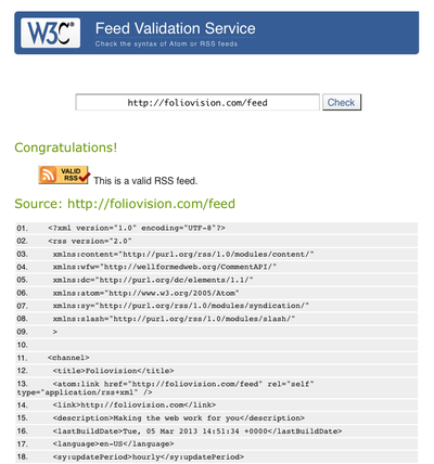 w3 org feed validator