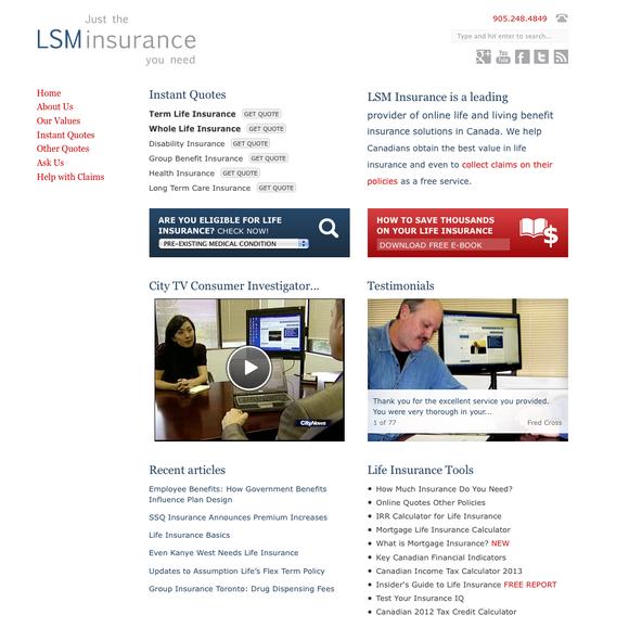 lorne marr lsm insurance