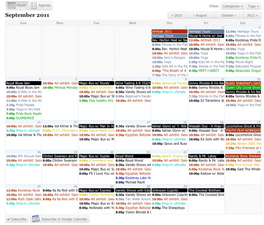 wordpress all in one event calendar