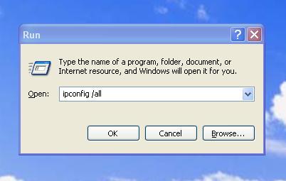 Windows XP Run Commands and Shortcuts