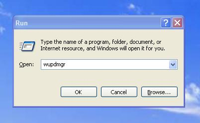 stopping windows update command