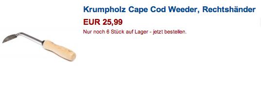 krumpholz cape cod weeder