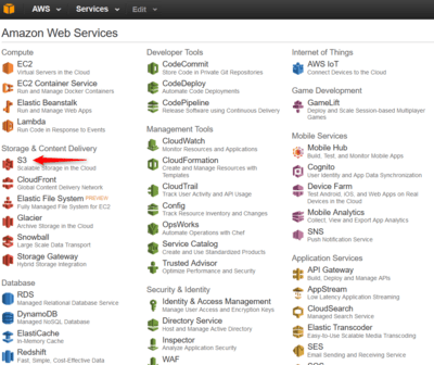 amazon-aws-menu-s3