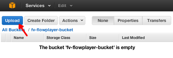 amazon s3 bucket opened