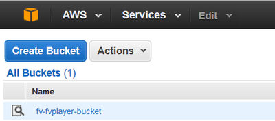 amazon s3 bucket ready