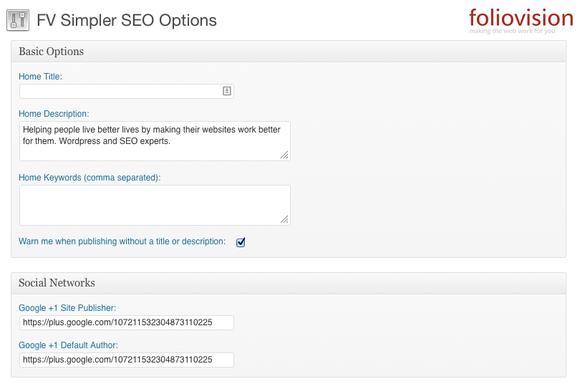 fv simpler seo google authorship