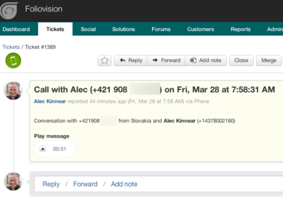 Freshdesk Freshfone service review: can Freshfone replace Skype for Business?