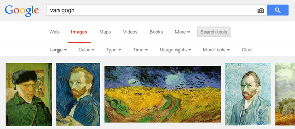 Google image search large images