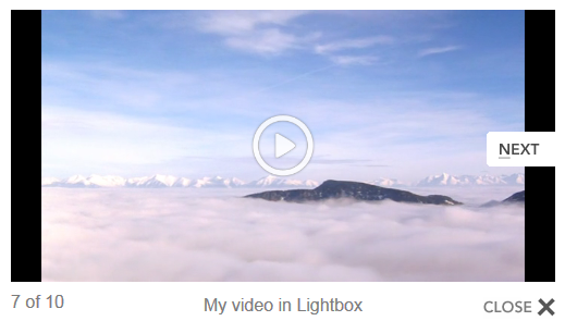 Playlists in Lightbox