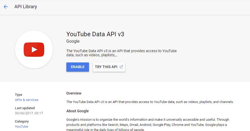 Using YouTube with FV Player