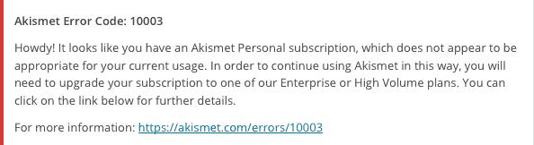 akismet-usage-warning