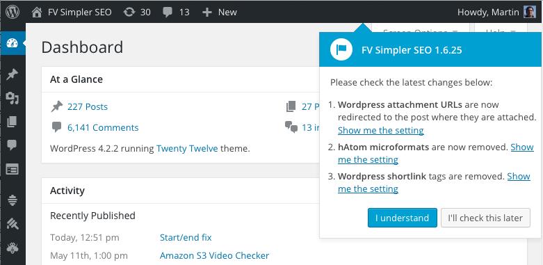 fv simpler seo improvements