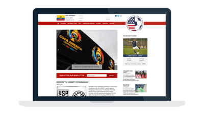 Case Study: USsoccerplayers.com 2016 Redesign