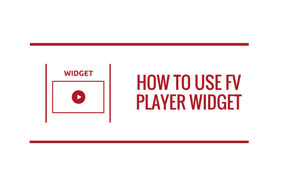 how-to-use-fv-player-widget