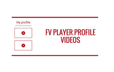 FV Player Profile Videos