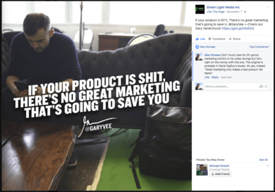 Great marketing, bad products vs great products, weak marketing