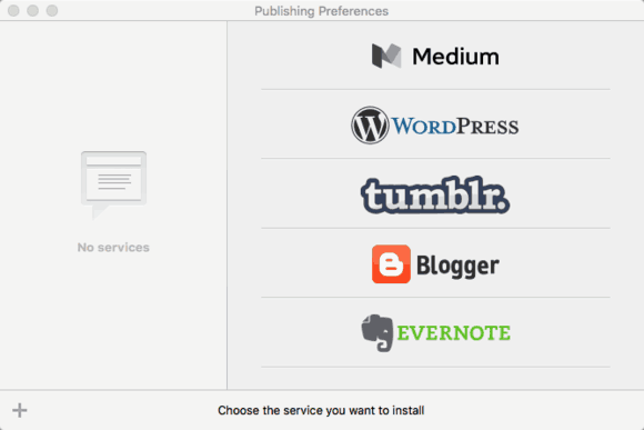 Fast track publishing to multiple platforms is a great feature.