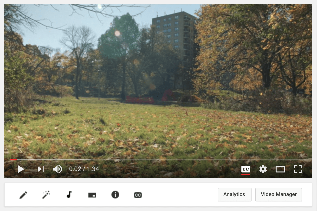 How to create video subtitles using Youtube and use them on