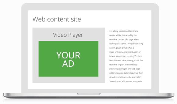 In-video ads