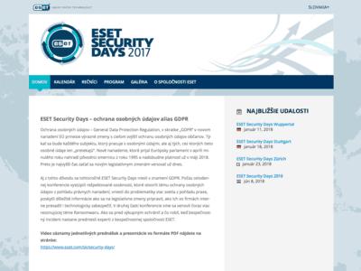 ESD-homepage