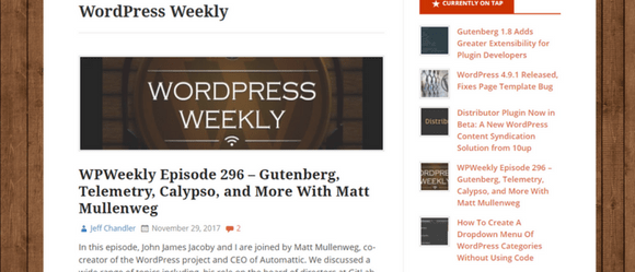 wordpress weekly podcast