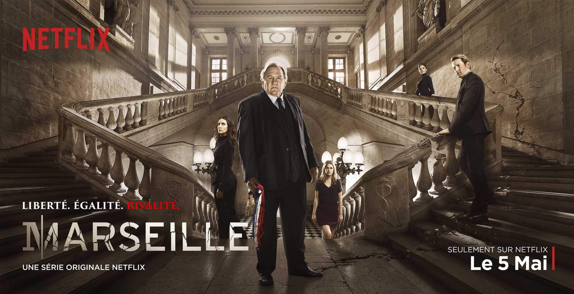 Marseille | Official Trailer (HD) | Netflix