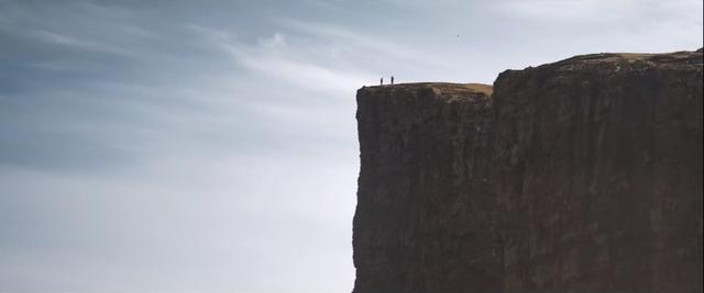 Edge of the cliff of the Faroe Islands
