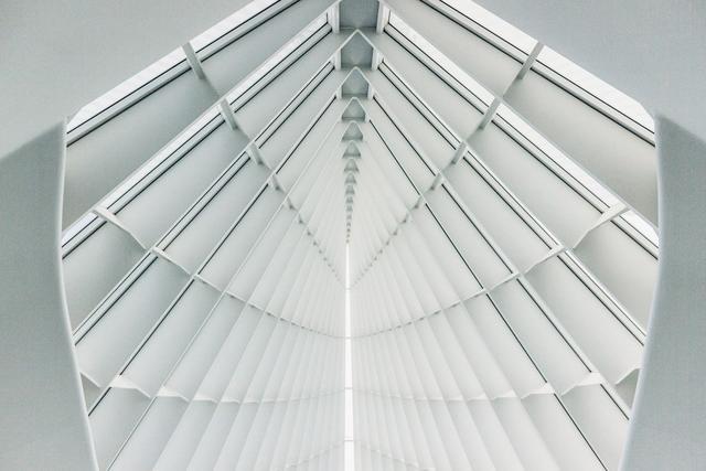 White contemporary architecture