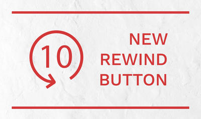 New rewind button for FV Player