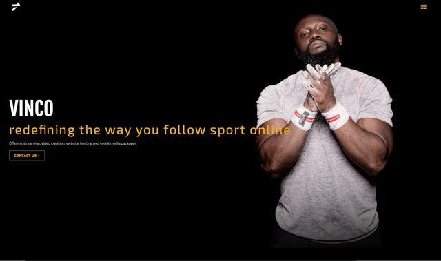 Vinco Sport Ltd website