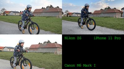 Video Stabilisation Test: iPhone 11 Pro vs Nikon Z6 vs Canon M6