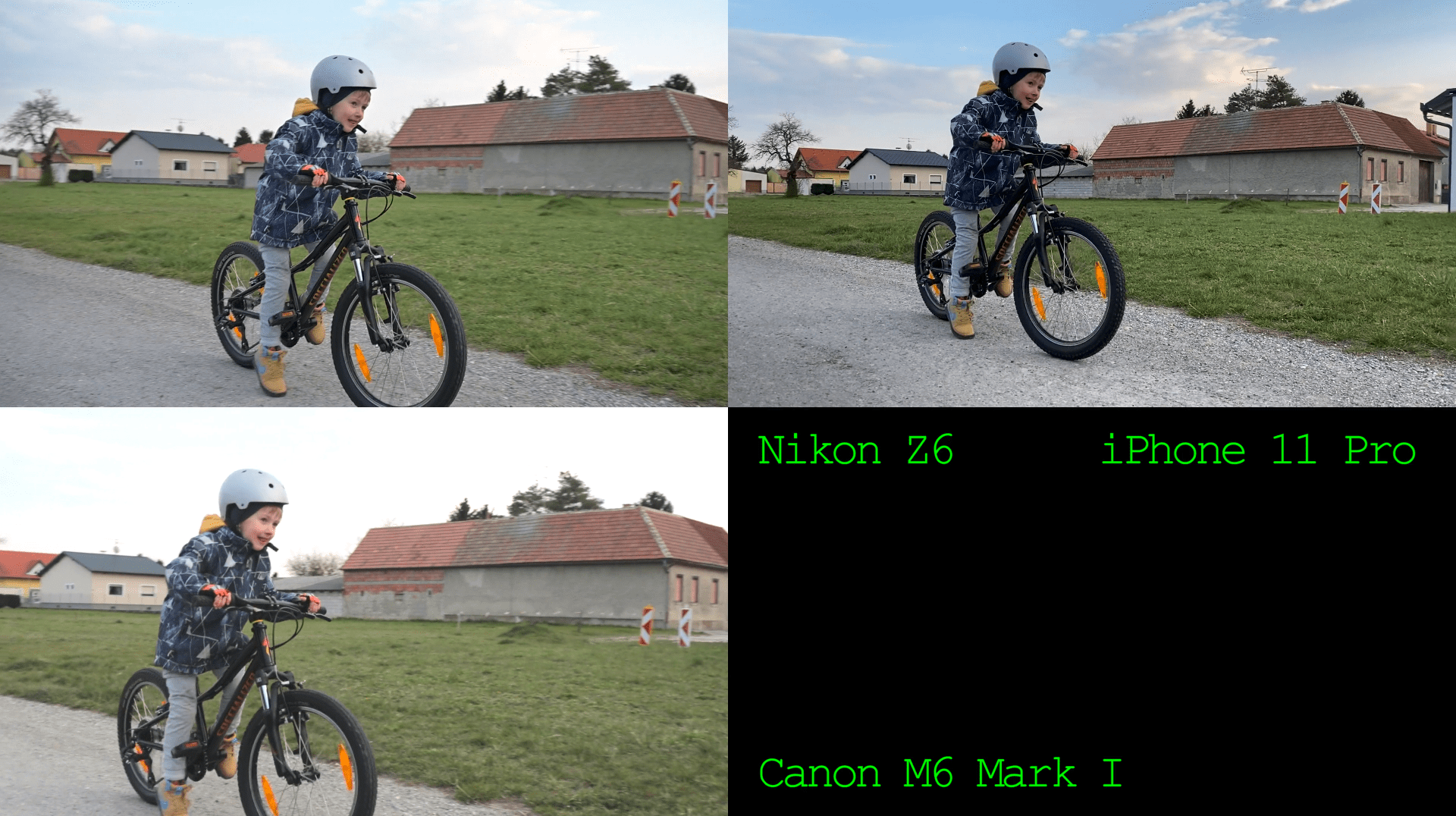 Video Stabilisation Test: Nikon Z6 vs iPhone 11 Pro vs Canon M6 I
