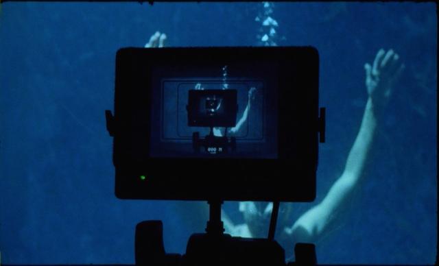 Shooting Rostislav Vítek under water