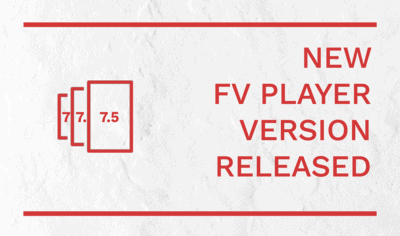 New Features in FV Player 7.5