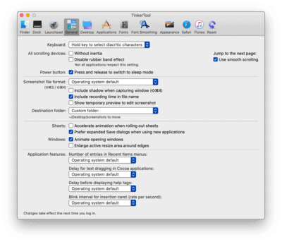 How to customise OS X safely: TinkerTool and TinkerTool System