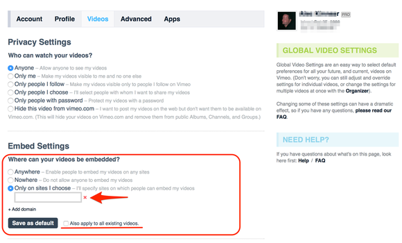 vimeo privacy 5